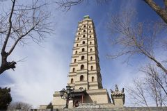 China Tower Royalty Free Stock Photography