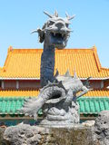China town. Source of dragon in Portaventura, Tarragona (Spain Stock Photography