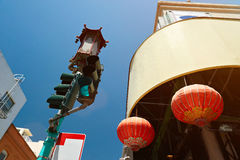 China town background Stock Photos
