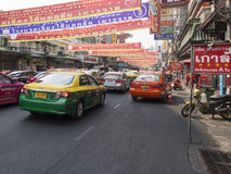 China Town Bangkok Royalty Free Stock Images