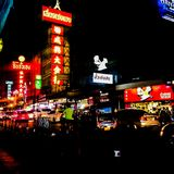 China town. At Bangkok, Thailand Royalty Free Stock Photos
