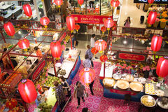China Town Food center Area Stock Photography