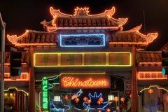 China town gate Royalty Free Stock Photo