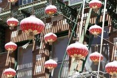 China Town lamps Stock Photos