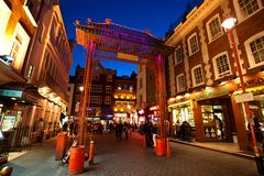 Free China Town London Stock Photography - 13614872