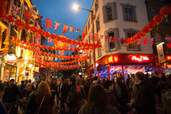China town London Royalty Free Stock Photos