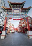 China Town in London Stock Photos