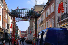 China Town in London Soho Royalty Free Stock Images