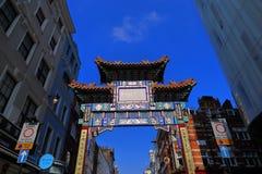 China Town in London Soho Stock Image