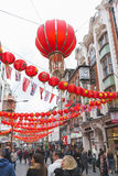 China Town in London Royalty Free Stock Images