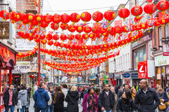 China Town in London Stock Image