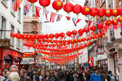 China Town in London Stock Images