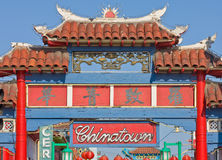 China town in Los Angeles Royalty Free Stock Photo