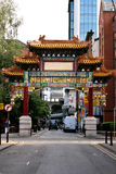 China Town Manchester Royalty Free Stock Images
