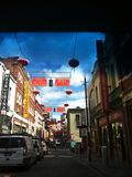 China town in Melbourne. City china town Australia Royalty Free Stock Image