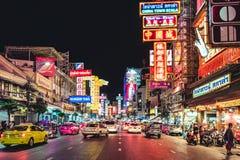 China town. A nightlight of bangkok chinatown thailand Stock Photo