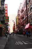 China Town NYC Stock Image
