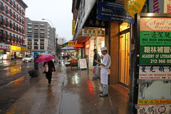 China town, NYC, USA Royalty Free Stock Images