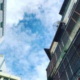 China Town& x27; s hemel stock afbeelding