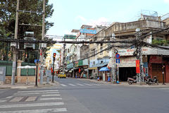 China town in Sai Gon Stock Photography
