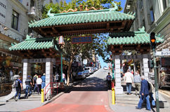 China town San Francisco stock photography