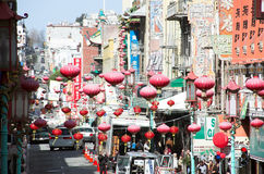 China Town, San Francisco Royalty Free Stock Image