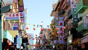China town San Francisco Stock Images
