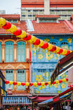 China town in Singapore Stock Photography