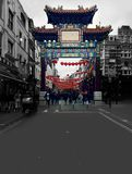 China town. Traditional town, asian vibes in London Stock Image