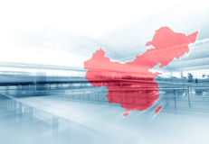 China Trade. Greater China Business Travel Background Stock Photos