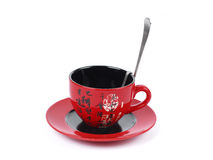 China tradicional red tea cup . isolated Stock Images