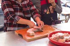 China, Tradition, Religion, Etikette, Opfer, drei Tiere, Schweinefleisch, lizenzfreie stockbilder