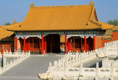 China - traditional architecture house Royalty Free Stock Photo