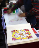China traditional crafts. Feb 2012, China Intangible Cultural Heritage Exhibition Stock Photos