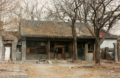 China traditional residential house is disappearing Stock Photography