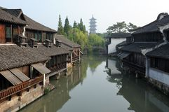 China traditional style building royalty free stock photo