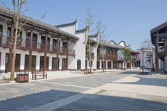 China traditional town Stock Photos