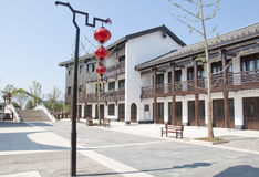 China traditional town Royalty Free Stock Photography