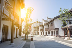 China traditional town Stock Photography