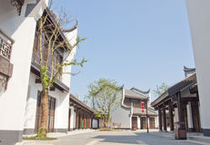 China traditional town Royalty Free Stock Photo