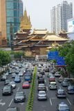 China traffic Royalty Free Stock Photos