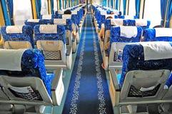 China train interior Royalty Free Stock Photography