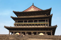 China Travel, Chinese Drum Tower Royalty Free Stock Photo