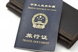 China Travel Document Stock Photos