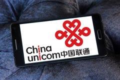 China Unicom company logo Royalty Free Stock Photography
