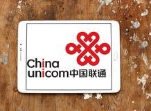 China Unicom company logo Royalty Free Stock Photos