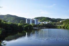 China University teaching building. University teaching building in china royalty free stock photo