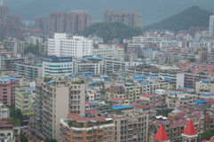 China villege city view of tourism city guiyang Stock Photos
