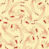 China vintage pattern Stock Image