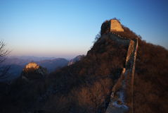 China Wall Royalty Free Stock Photo